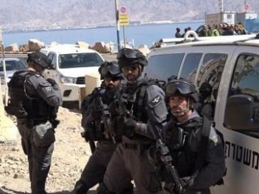 الشرطة تجري مناورات امنية تدريبية واسعة في ايلات