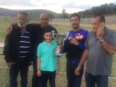 فوز نادي دبورية بكأس الدرجة الثانية