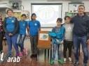 مجد الكروم: باسل ذياب رئيسا لمجلس الطلاب في مدرسة عمر بن الخطاب