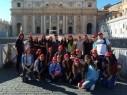 قداسة البابا يرحّب بطلاب راهبات الناصرة - حيفا في روما