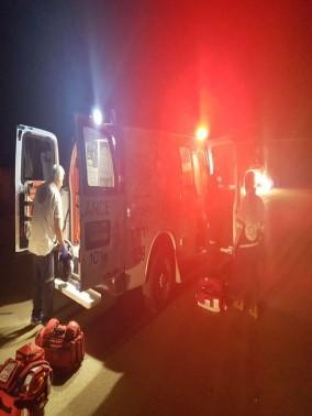 اصابة شاب بجراح خطيرة في حادث طرق على طريق مسعدة- بقعاتا