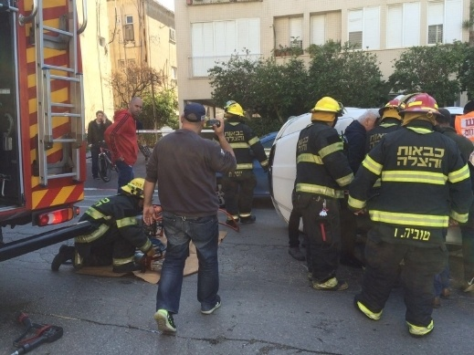 حادث طرق بالقرب من وادي سلّامة