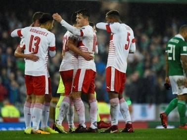 سويسرا تعود بفوز ثمين من إيرالندا الشمالية وتقترب
