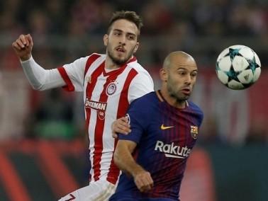 إصابة ماسكيرانو تضع برشلونة في ورطة