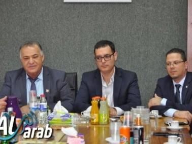 الناصرة: مدير عام وزارة الصحة يزور البلدية