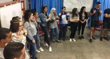 التعايش العربي اليهودي بصورة حضارية في اورط الشافعي في عكا