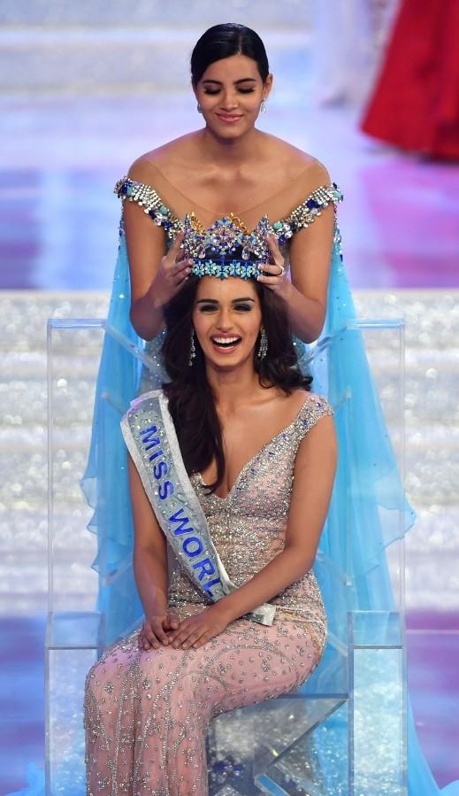 هندية تتوّج بلقب ملكة جمال العالم 2017