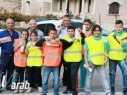 """اسبوع الحذر على الطرق في مدرسة شعب """"ب"""" على اسم كامل سعدة"""