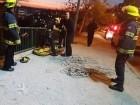 انقاذ شخص سقط عن ارتفاع 6 امتار في حيفا