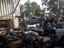 حملة مداهمة وفحص 3 محلات جمع نفايات معدنية وخردة في اكسال ودبورية