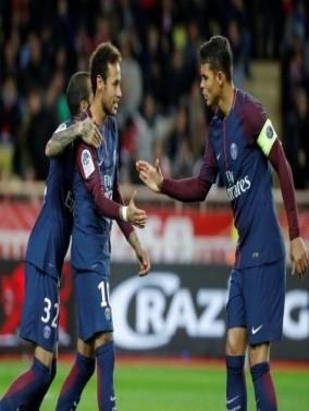 أهداف مباراة باريس سان جيرمان وموناكو 2-1