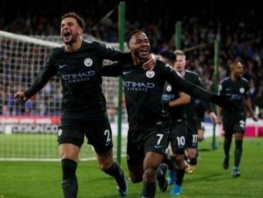 أهداف مباراة مانشستر سيتي وهيديرسفيلد تاون 2-1