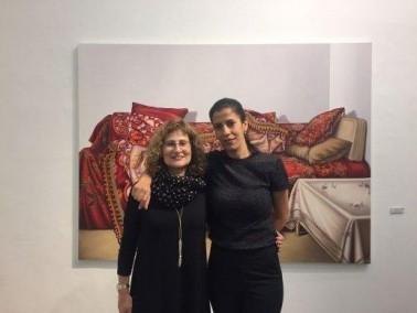 الفنانة فاطمة ابو رومي من طمرة تفتح معرضها الرابع