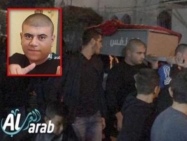 الطيبة: تشييع جثمان الشاب علي أبو جامع ضحية الانفجار
