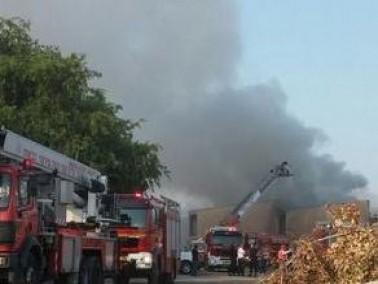 اندلاع حريق في منزل في يركا