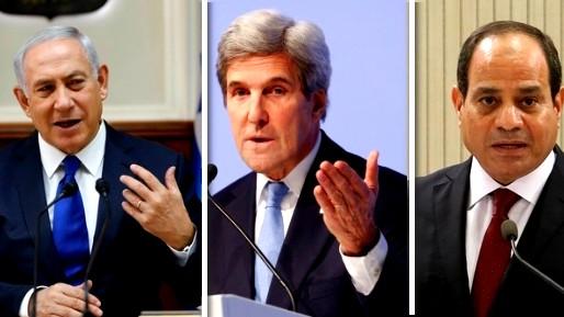 كيري:اسرائيل ومصر تضغطان لمهاجمة ايران