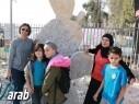 مجد الكروم: مهرجان النحت يستضيف طلاب المدارس