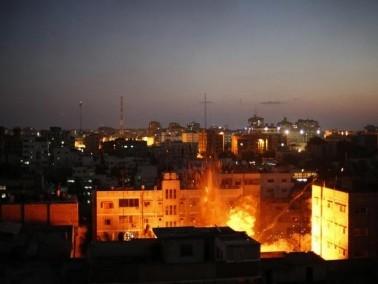 مقاتلات سلاح الجو تستهدف موقعين في غزة