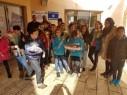 مدرسة البشائر الأهليّة للعلوم -سخنين تحيي ذكرى المولد النبوي الشريف بتوزيع الورود