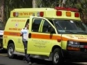 إصابة شخصين في حادث طرق قرب البحر الميت