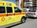 اصابة متوسطة لعامل إثر سقوطه عن ارتفاع في بيت شيمش