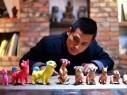 فنان صيني يبدع تماثيل طينية تصدر أصواتًا!