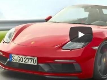 Porsche 718 Boxster GTS الجديدة