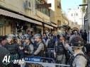 الشرطة: تفريق شبّان حاولوا التظاهر في شارع صلاح الدين بالقدس