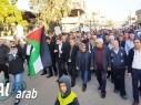 مجد الكروم: المئات من أهالي الشاغور يشاركون في التظاهرة ضد قرار ترامب