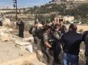جمعية الأقصى: الشرطة الاسرائيلية تقتحم مقبرة باب الرحمة في القدس