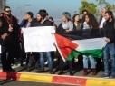 اجواء مشحونة بين طلاب عرب ويهود في جامعة حيفا على خلفية اعلان ترامب