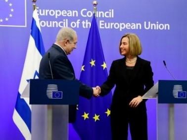نتنياهو يلتقي مفوضة الاتحاد الأوروبي في بروكسل