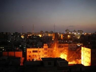 الجيش الاسرائيلي ينفذ غارات على مواقع حماس