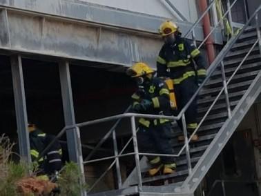 اندلاع حريق في مخزن للكرتون في كابول