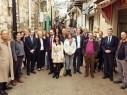 زيارة ميدانية لسفراء الاتحاد الأوروبي للاطّلاع على حالة الإسكان للعرب في حيفا