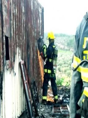 كايد ظاهر: إحراق مبنى مهجور تابع لمجلس جولس