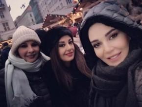 سيرين عبد النور تقضي إجازة في أوروبا مع الأصدقاء..صور