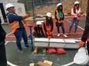 طلاب صفوف العواشر في بيت الحكمة بالناصرة يشاركون في دورة الإنقاذ البسيط