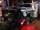 سيارة تصطدم بواجهة مقهى في جت المثلث واصابة طفيفة