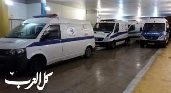 اصابة 7 اشخاص بجراح متفاوتة في حادث طرق على مفرق مجد الكروم