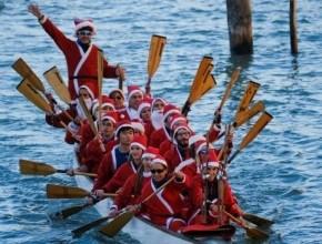 بالصور- البندقية تستقبل عيد الميلاد بطريقة مميزة ومبتكرة
