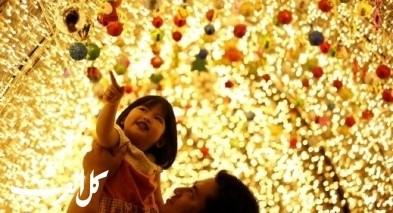 أضواء عيد الميلاد في ميانمار