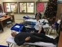العشرات من سكان عبلين يلبون نداء الحملة الانسانية للتبرع بالدم