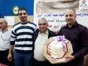 دير الاسد: أسرة مدرسة عبد العزيز أمون تكرم المدير السابق المربي حسين هداية أسدي