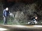 قلنسوة: القاء قنبلة واطلاق رصاص وحرق سيارة