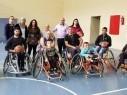 لاول مرة في الوسط العربي تشكيل فريق كرة السلة لذوي الاحتياجات الخاصة في مجد الكروم