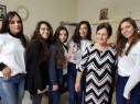 طلاب الشاملة أ شفاعمرو في زيارة تهنئة بالاعياد للمسنين