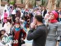 مجد الكروم: طلاب مدرسة عمر بن الخطاب بوقفة استسقاء لهطول المطر 