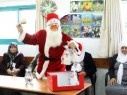 سخنين: بابا نويل يزور نادي الامل للمسنين ويوزع الهدايا بأجواء مميزة