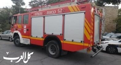 إندلاع حريق داخل مخزن في بلدة ديرحنا